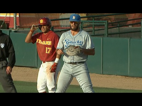 Recap: USC baseball's comeback falls short to UC Santa Barbara
