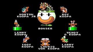 Super Mario World: Super Mario Advance 2 - All Bosses Complete (Gameplay/Walkthrough)