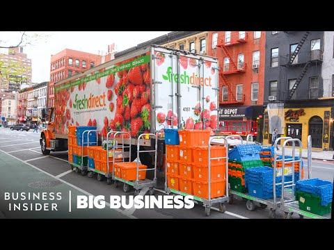 How 3 Million Grocery Items Are Delivered To Homes Every Week   Big Business