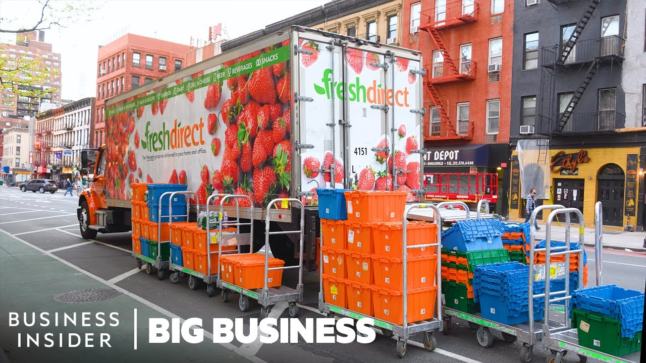 How 3 Million Grocery Items Are Delivered To Homes Every Week | Big Business