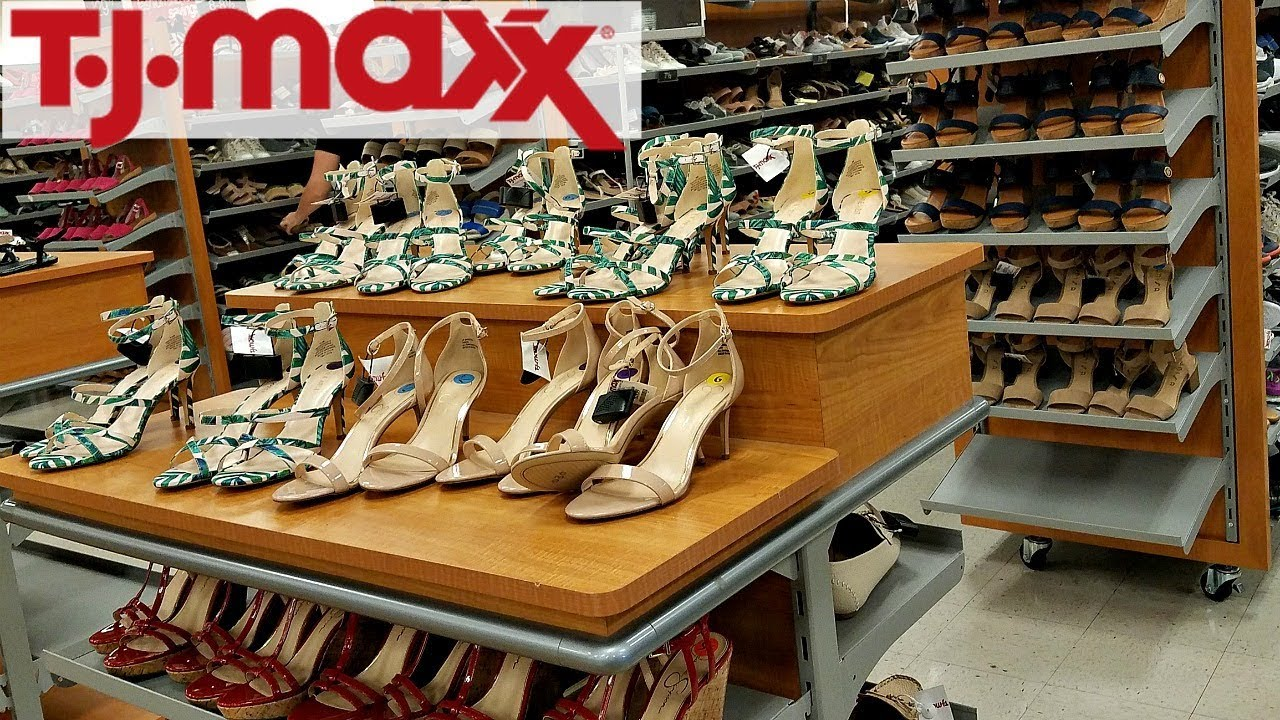 c327032d02969e Shop WITH ME TJ MAXX SHOES SNEAKERS SANDALS ADIDAS JESSICA SIMPSON COACH  WALK THROUGH MAY 2018