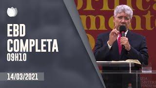 ESCOLA BÍBLICA DOMINICAL  9h10 | Rev. Hernandes Dias Lopes | Igreja Presbiteriana de Pinheiros