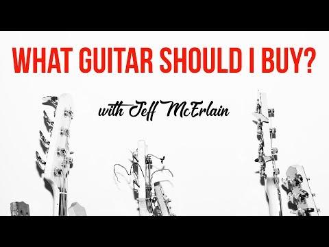 What Guitar Should I Buy? Telecaster vs. Stratocaster vs. Les Paul - Jeff McErlain
