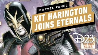 Kit Harington Joins the Cast of Marvel's The Eternals - D23 2019