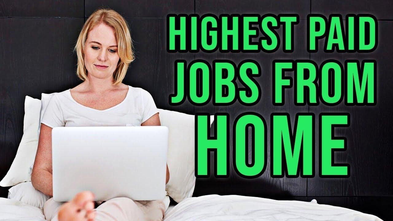 10-те најплатени работи од дома