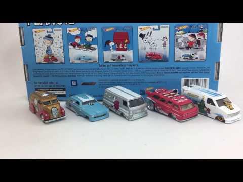 Hot Wheels Peanuts Set