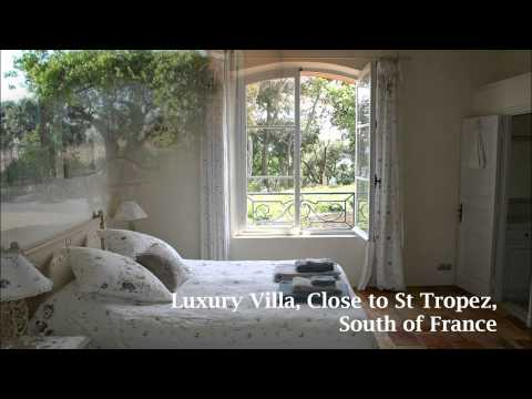 Luxury Holiday Rental Villa Close to St Tropez South of France