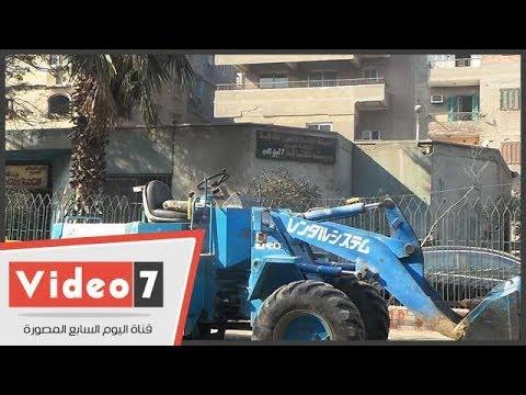 تحويل قصر الثقافة بإمبابة لجراج سيارات ومقلب قمامة  - 14:22-2018 / 1 / 15