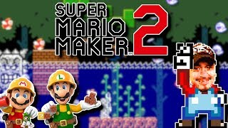 Viewer levels -Short/Early Mario Maker 2