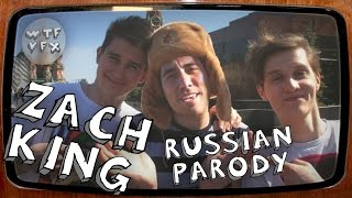 Zach King Russian Parody! (WTF VFX)