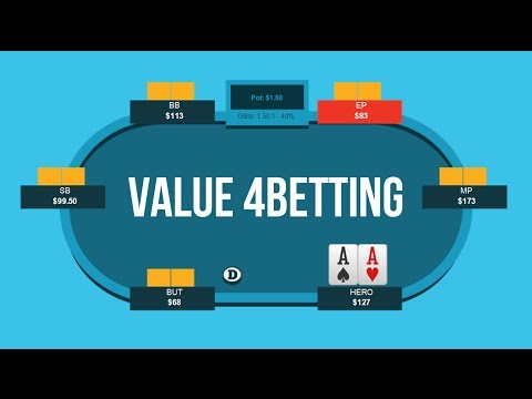 How To 4-Bet For Value Preflop | Poker Quick Plays