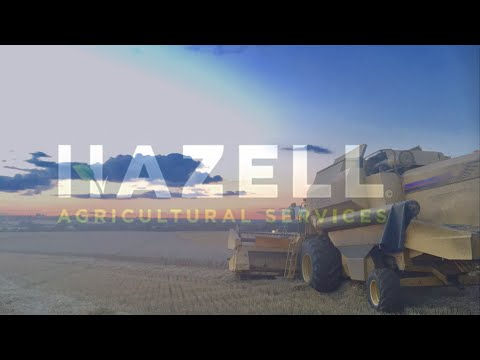New Holland TX68 combine - Hazell Agricultural Services