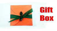 Watch Video How to wrap a gift box in a creative way - Ideas for kids