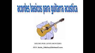 Acordes Basicos Para Guitarra