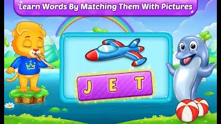 ABC Spelling Learn Alphabets With Lion Lucas ** Learn English For Kids