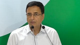 LIVE: Congress Party Briefing by Randeep Singh Surjewala at AICC HQ
