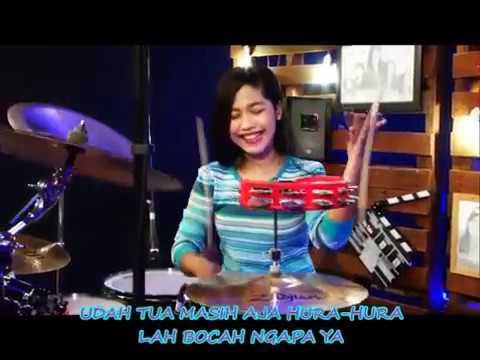 "WALI BAND ""BOCAH NGAPA YAK"" Versi Drum Cover by Nur Amira Syahira"