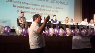 Dezbatere la Odeon cu 8/9 candidați la Primăria Chișinău