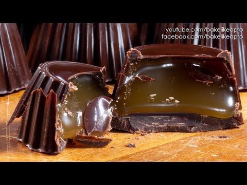 Mini Chocolate Caramels Recipe