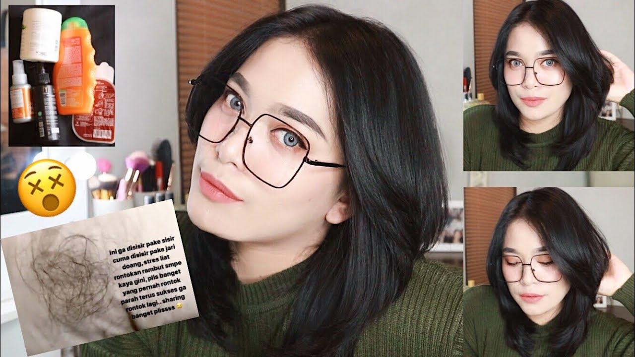 Rambut rontok ? Gajadi Botak dengan Shampoo 20rb an !! Hair care routine 2019