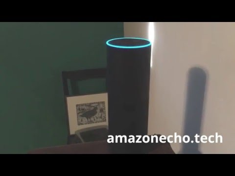Amazon Echo - Set Alarm & Check Alarm