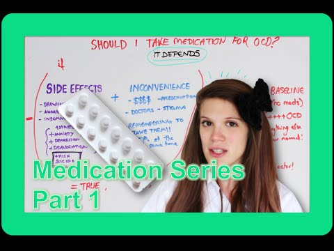 Medication for OCD, Yay or Nay?! | Part 1: MYTHBUSTING!