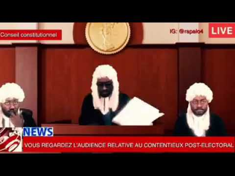 Parody: Cameroon Constitutional Council