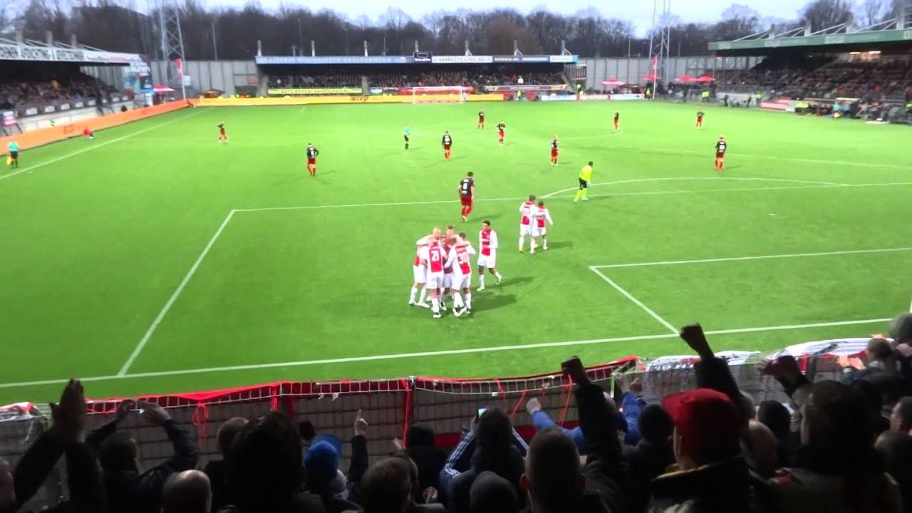 Excelsior - Ajax 21-12-2014 (0-2) : GOAL Zivkovic - YouTube