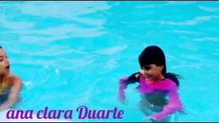 Dia de piscina com Lorena(ana clara  Duarte)