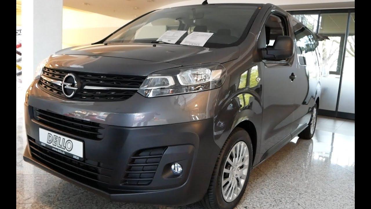 2020 New Opel Vivaro Exterior and Interior - YouTube