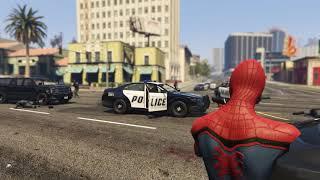 Человек паук против копов и дикая Эльза сделают твой день