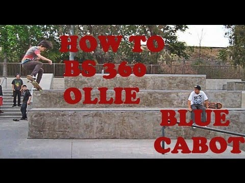 How to Backside 360 ollie