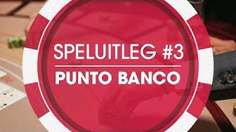 Holland Casino | Speluitleg: Punto Banco