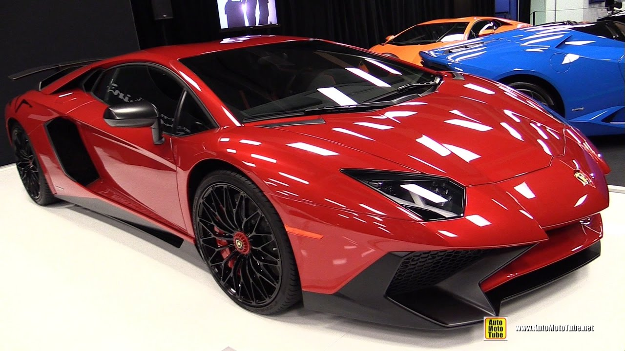 2017 Lamborghini Aventador Lp750 4 Sv Exterior And Interior Walkaround 2017 Montreal Auto