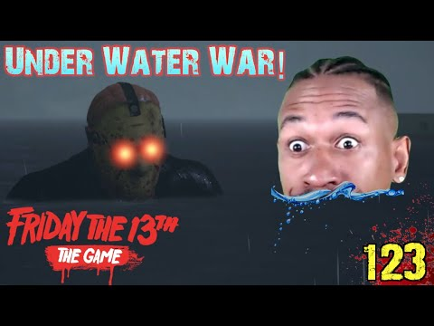 UNDER WATER WARS Vs. JASON! Friday The 13th Gameplay #123