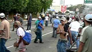 Golpe de estado en Honduras: Violenta represión