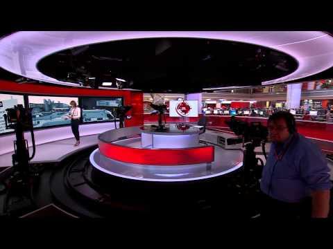 BBC News at Six - Surprise Guest