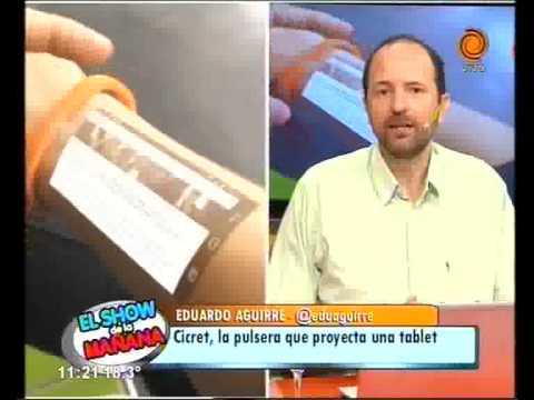 La pulsera que proyecta en la piel 15 04 2015