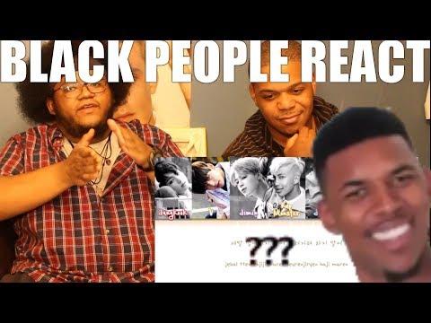 BLACK PEOPLE WATCH K-POP(BTS - DEAD LEAVES)