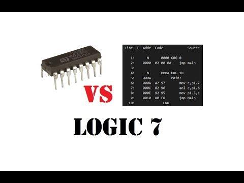 Cyrob logique 7 8051 vs porte logique le gagnant est for Porte logique