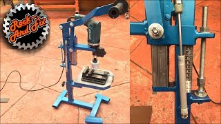 Base para Taladro de Banco / Homemade Drill press