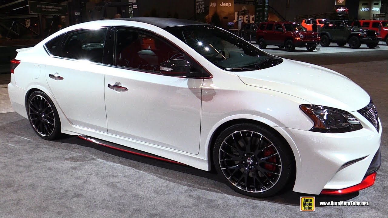 Nissan Sentra Nismo Concept Exterior Interior Walkaround 2015