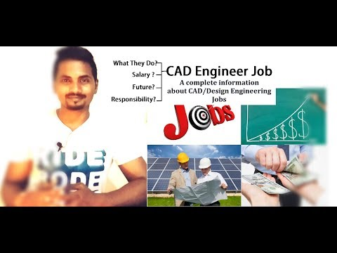 All Information About CAD Jobs | Design Engineer Salary | Future Of Design Engineering