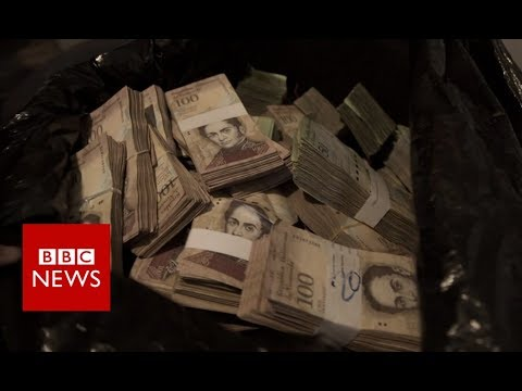 Where a coffee costs wads of banknotes - BBC News