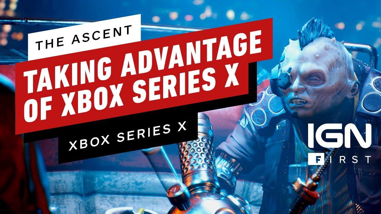 Cómo The Ascent se aprovecha de Xbox Series X - IGN First + vídeo