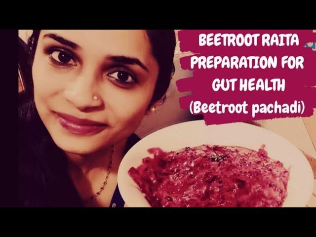 Healthy Beetroot Raita  /Beetroot Yogurt Recepie /Beetroot pachadi /Gut health/DrAkhilaVinod