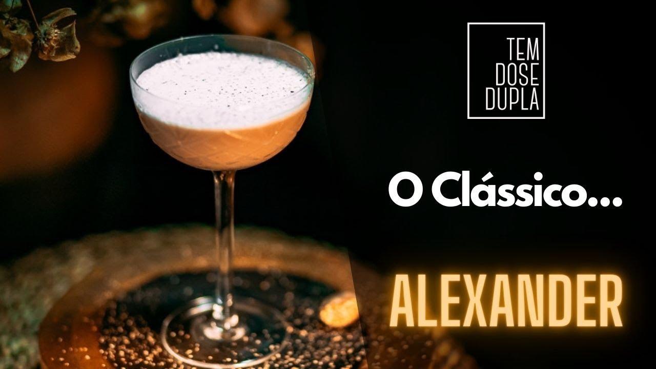 COMO FAZER ALEXANDER - COQUETEL CLASSICO