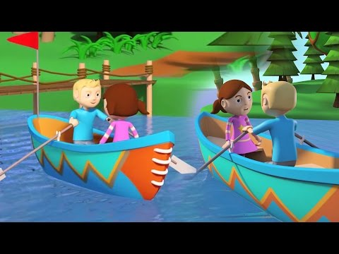 rame rame rame ton bateau | chansons pour bebes | Row Row Row Your Boat | Rhymes Collection for Kids