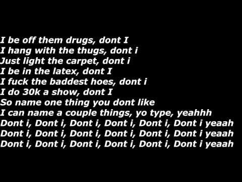 Lil Durk (Feat. Hypno Carlito) - Don't I (Official Screen Lyrics)