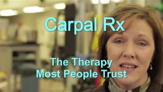 Herbal and homeopathic products are not carpal tunnel remedies